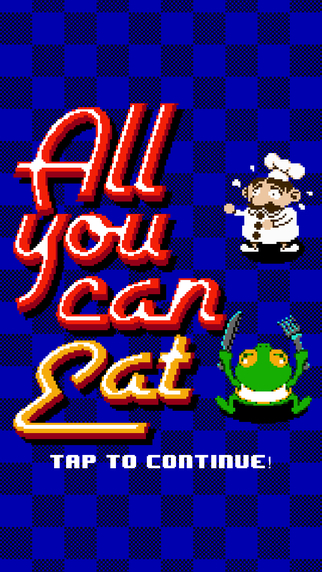 All You Can Eat: He Won't Stop Eating
