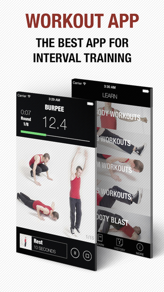 Workout pro - instructor for interval wod and hiit training