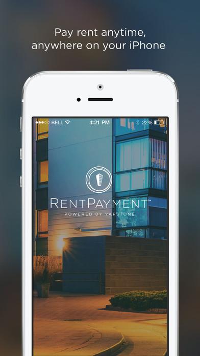 RentPayment iPhone Screenshot 1