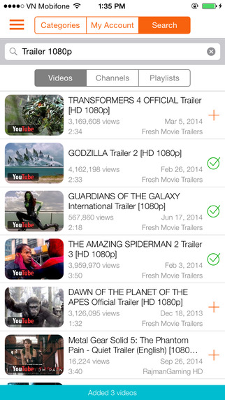 Instatube 2 - Video Player for YouTube Vimeo Dailymotion