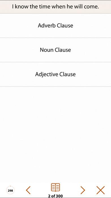 Grammar Express: Clause Analysis iPhone Screenshot 3