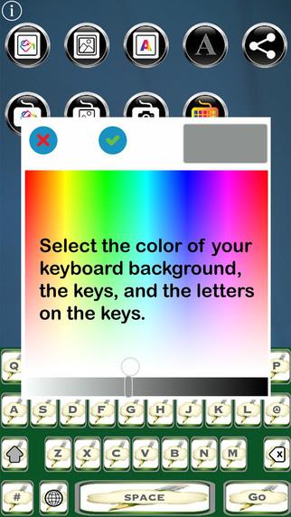 Je Suis Free Custom Keyboard