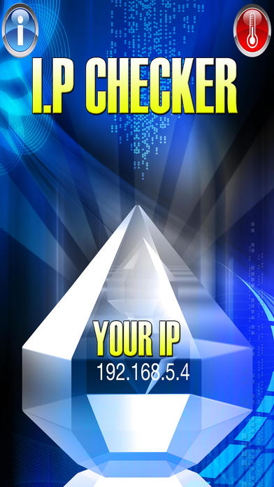 iP Checker - Find your IP Address - IP Finder, What Is My IP? iPhone Screenshot 1