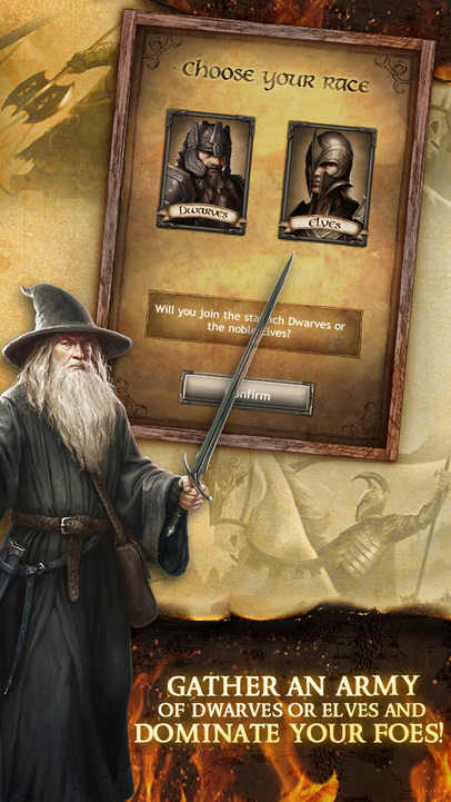 The Hobbit: Kingdoms of Middle-earth - iPhone Mobile Analytics and App Store Data