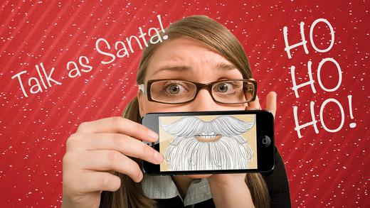 Santa Stache - Talk like Santa Claus