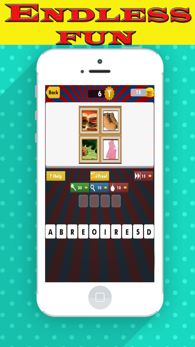 4 pic 1 word puzzle game for free