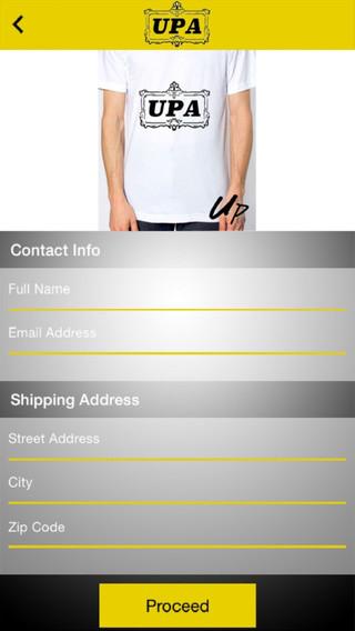 UPA Tshirt Design