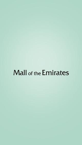 Mall of the Emirates MOE - Official App