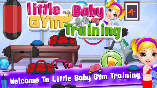 Little American Baby Care Gym Training