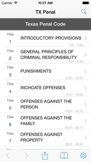 TX Penal Code LawStack's Texas Law Statutes