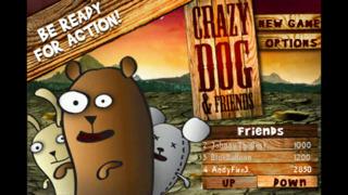 【休闲打地鼠】疯狂的小狗和他的朋友
