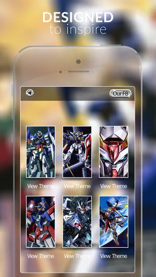 Anime Walls : HD Retina Wallpaper Themes Mobile and Backgrounds on Suit Gundam Photo
