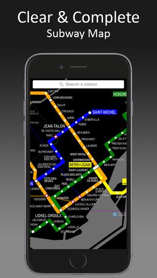 MetroMap Montreal