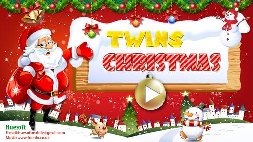 Twins Christmas Cards