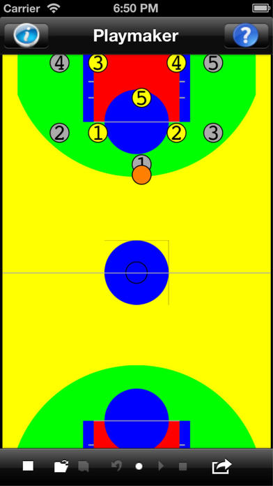 Basketball Playmaker iPhone Screenshot 1
