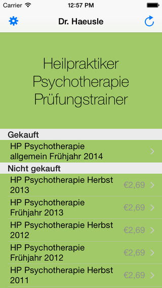Heilpraktiker für Psychotherapie - Original Prüfun