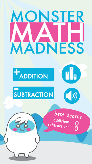 Monster Math Madness - Train Your Brain