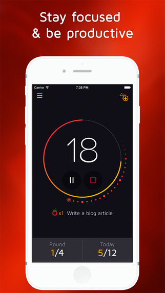 Focus Watch: Pomodoro Timer Task Manager for work and study