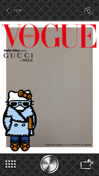 VOGUE FNO×GUCCI×Hello Kitty CAMERA