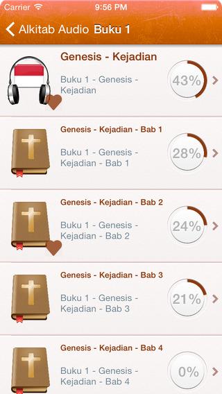 Indonesian Bahasa Holy Bible Audio mp3 - Alkitab