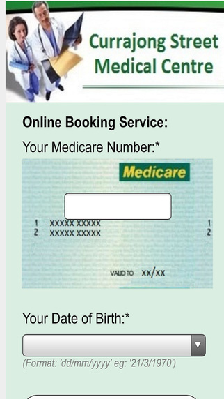 Currajong st Medical Centre Online Booking