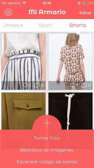 Honua - Scan your clothings' bar codes share your looks and create fashion outfit trends