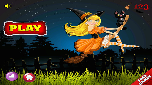 Pretty Witch Bounce - Magical Jumping Adventure