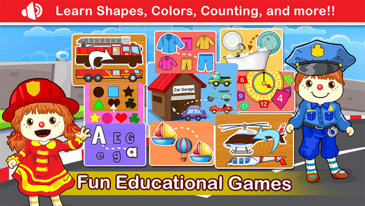 Preschool Learning Educational Games for Toddler Baby Kids - Jigsaw Puzzle Matching