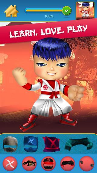 My Mega Power Ninja Hero Design Copy Crazy Game