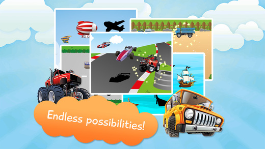 Vehicles Puzzles Toddlers