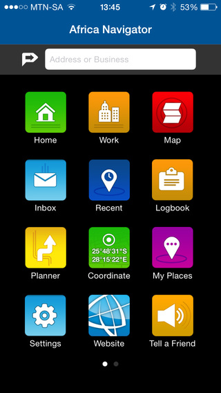 【免費交通運輸App】AfriGIS Navigator Africa-APP點子