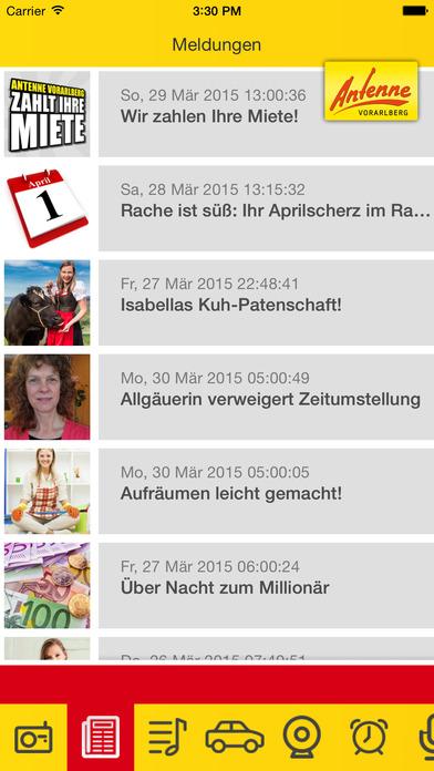Antenne Vorarlberg iPhone Screenshot 2