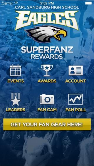 Carl Sandburg High School SuperfanZ Rewards