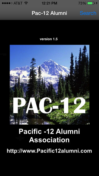 Pac-12 Alumni Conference College University