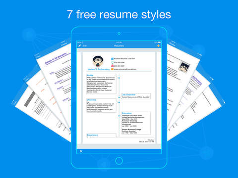 Quick Resume - Resumes Builder and Designer screenshot