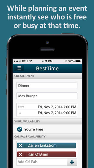 BestTime - Easy Social Event Planning