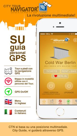Berlino Guerra fredda Tour a piedi con guida GPS