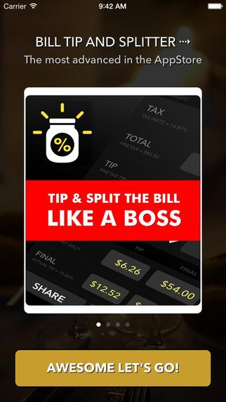 Tip Split - Advanced Tip Calculator and Bill Splitter