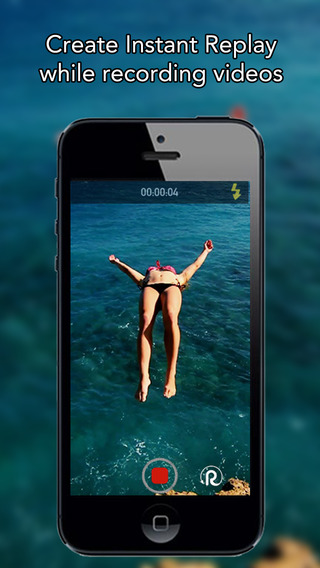 Instant Replay - Create instant replay while recording and editing your videos