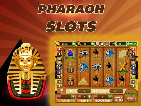 Pharaoh Slots - Egypt Gambling Slot Machine From Luxor for iPad