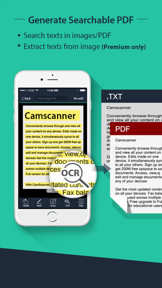 CamScanner Free| PDF Document Scanner and OCR Screenshots