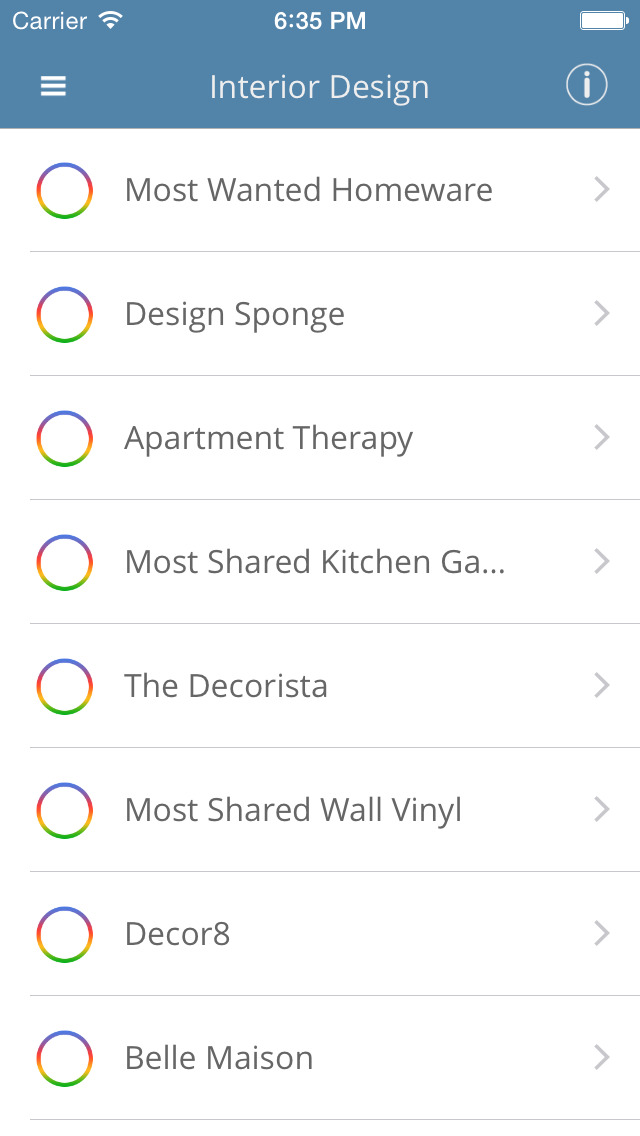 App shopper interior design magazine shopping for Interior design shopping app