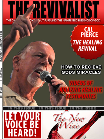 Screenshots for The Revivalist-a Christian Magazine about Living a Supernatural Lifestyle of Revival