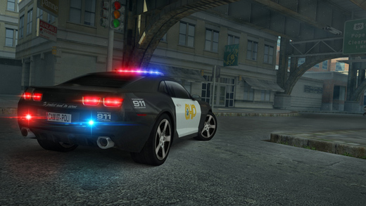 3D Police Car Parking Free - eXtreme Real Racing Simulator Driving Chase Games