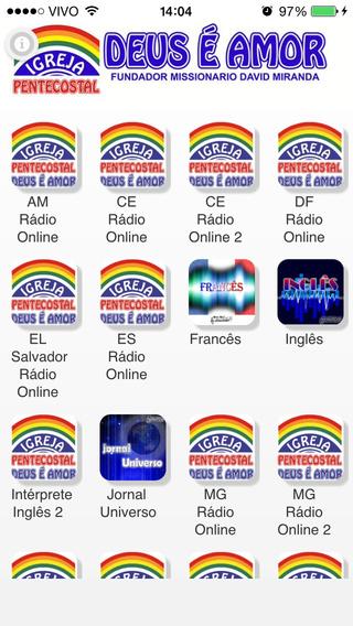 Rádio 88 FM iPhone Screenshot 2