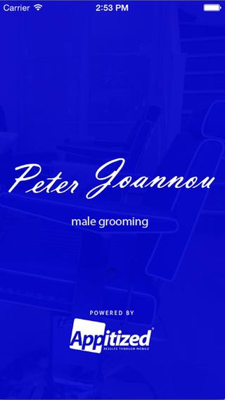 Peter Joannou - Male Grooming