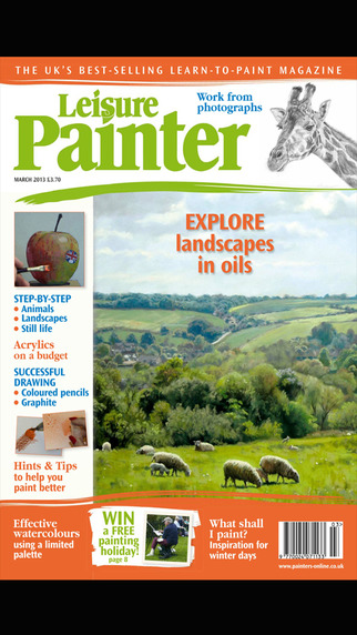 Leisure Painter – The UK's best-selling learn-to-paint magazine