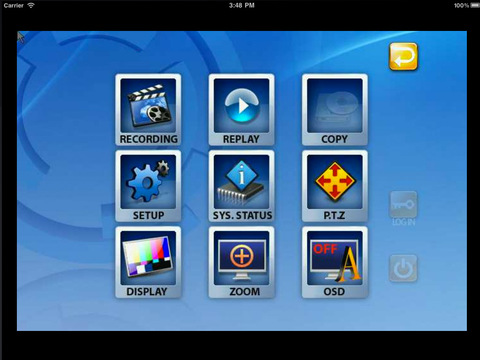 iDvrMaster iPad Screenshot 1