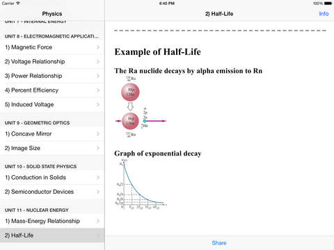 Physics 2 HD iPad Screenshot 2