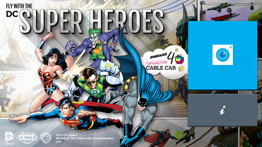 FLY WITH SUPER HEROES